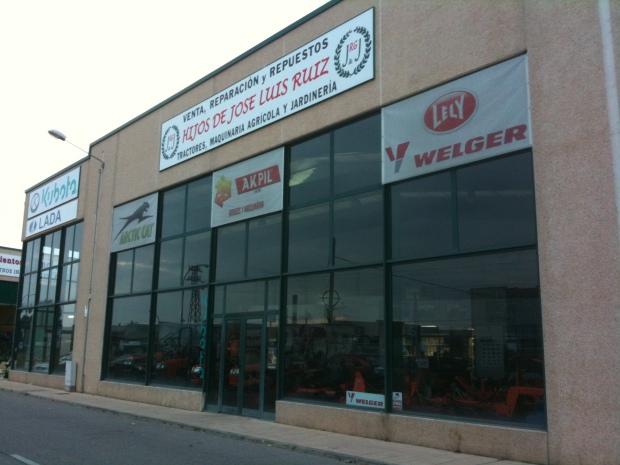 concesionario de máquinaria agricola en Burgos