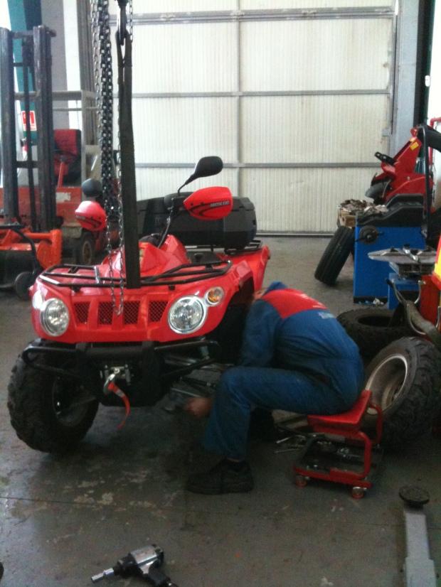 reparaciones de quads atv en Burgos