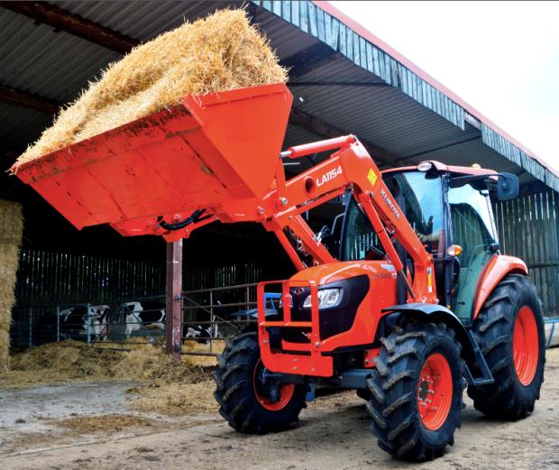 palas cargadoras para tractores en Burgos