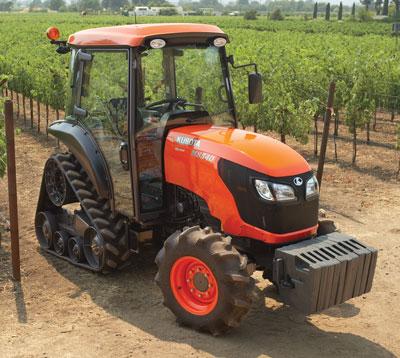 tractores estrechos bandas de goma en Burgos