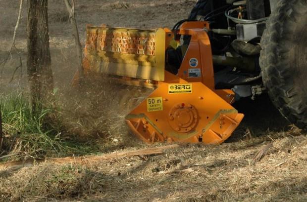 trituradoras forestales en Palencia