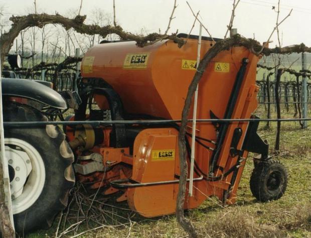 trituradoras viñas en Burgos