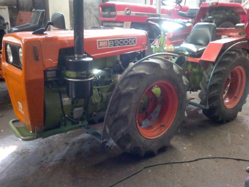 Mini tractor de ocasi n agria 8900 de talleres hijos de - Colchonetas de segunda mano ...
