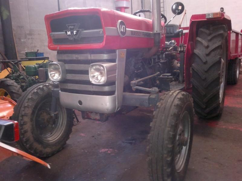 Tractor de ocasi n massey ferguson 147 talleres hijos de jos luis ruiz - Mesillas de segunda mano ...