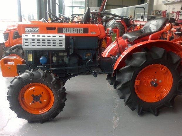 tractores para huertas en Burgos
