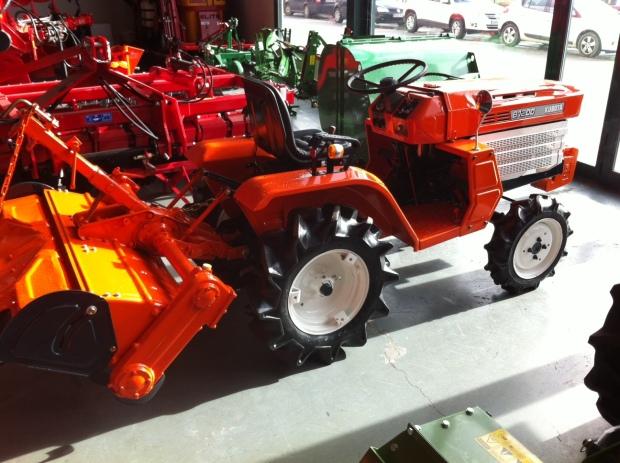 tienda de tractores pequeños en Burgos