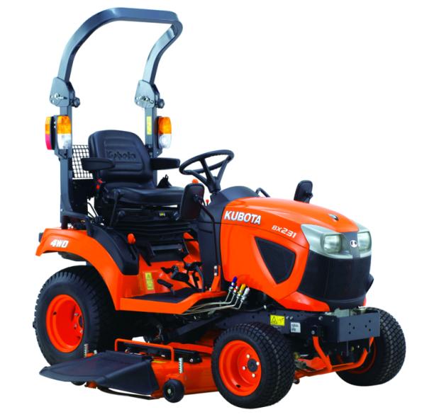 mini tractores para jardineria en Valladolid