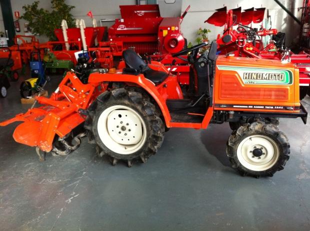 micro tractores de segunda mano en Madrid