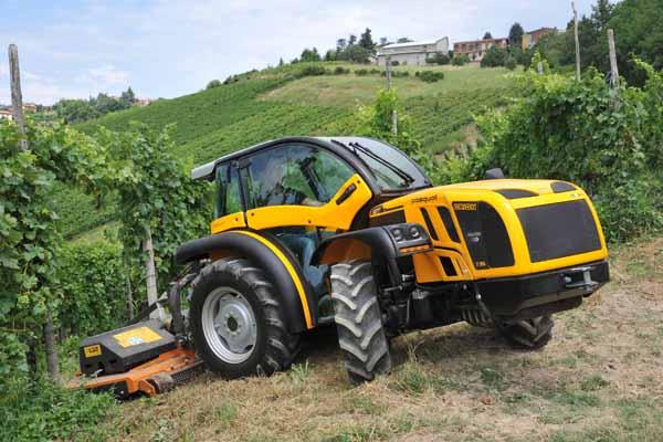 tractores viñedos en Alava
