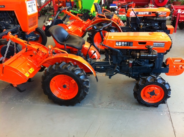 mini tractor usado en Burgos