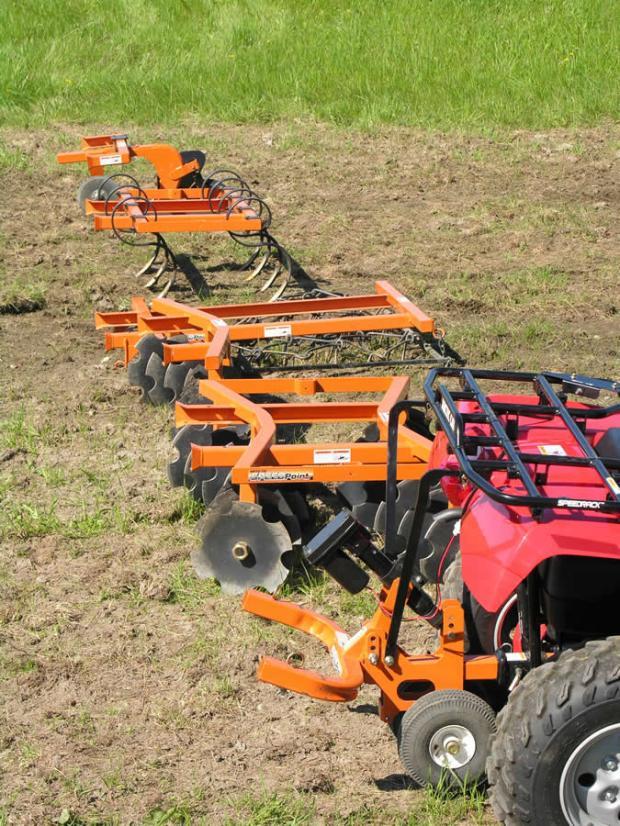 accesorios agricolas para quad ATV en Andalucia