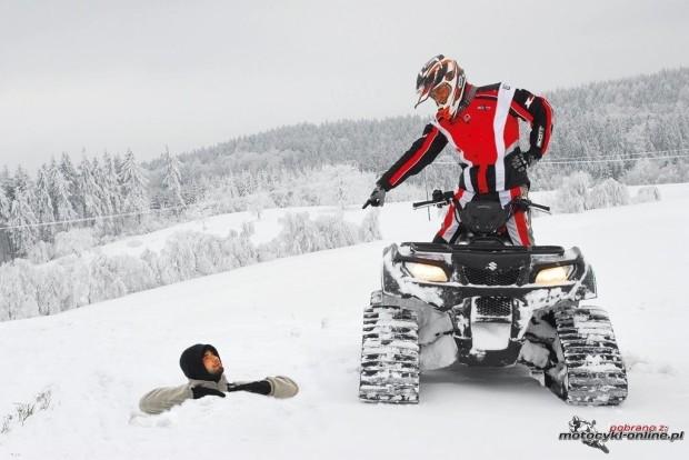 orugas de nieve para quads ATV UTV en Cantabria