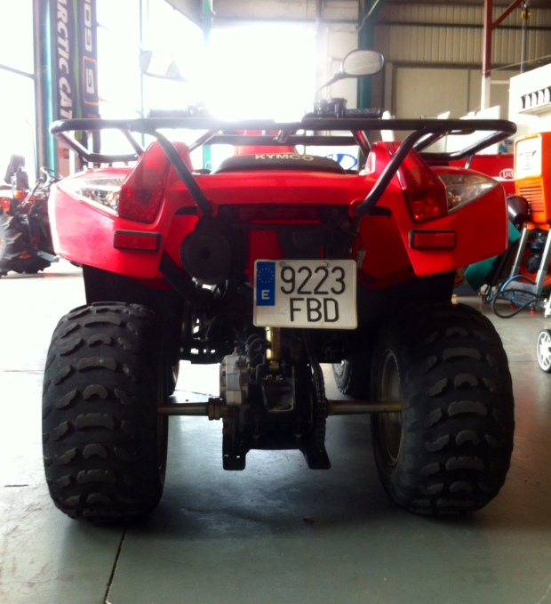 quads atv de ocasion en Palencia