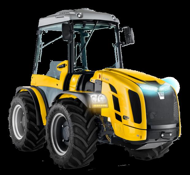 tractores viñedos en Aranda de Duero