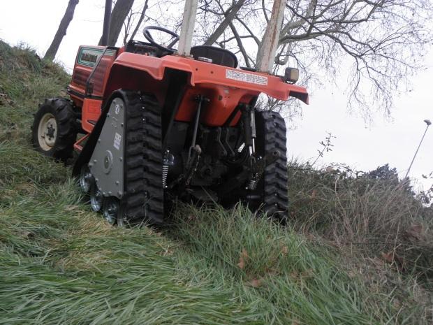 orugas para mini tractores en Burgos