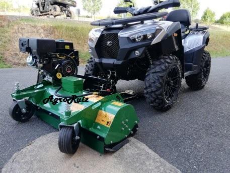 desbrozadora frontal ATV